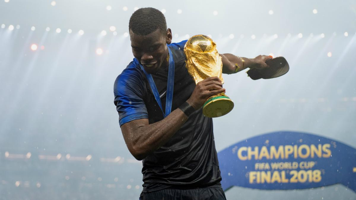 Pogba purposely kept low-key hairstyle during France World Cup triumph