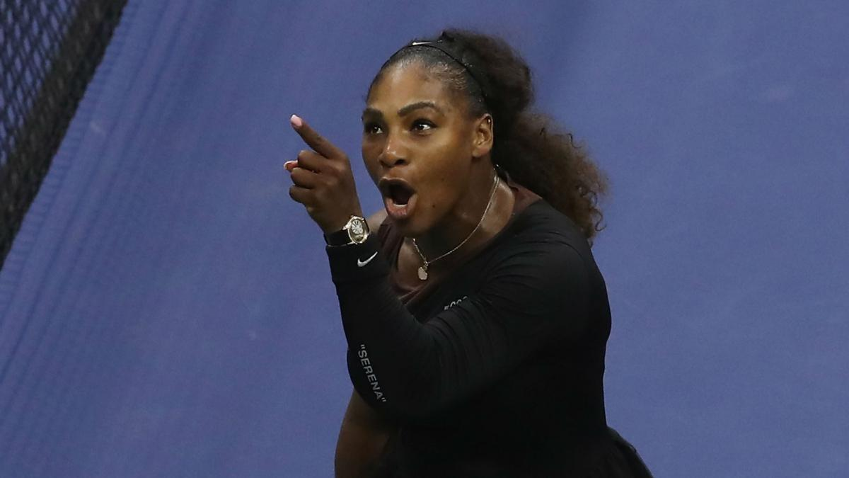 Serena acted with grace and class in US Open final - Curry