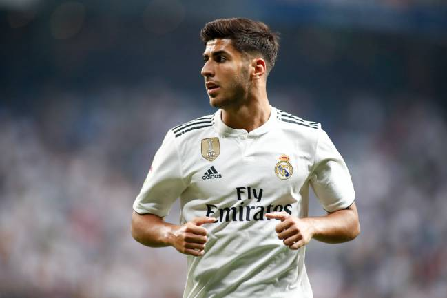 "Asensio: ""I'm not planning on wearing the No.20 shirt forever..."""