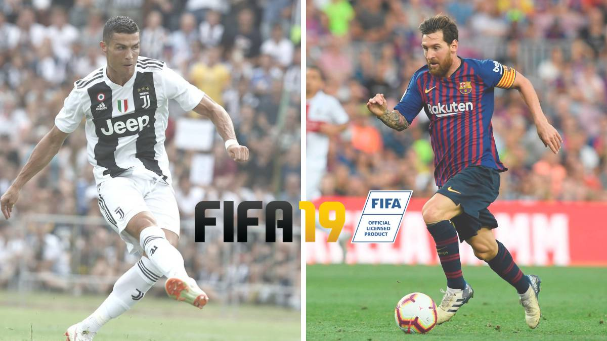 Ronaldo claims FIFA 19 bragging rights over Messi