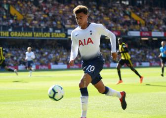Spurs without Alli and Lloris for Liverpool clash