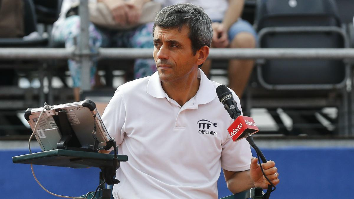 Umpire Ramos back in the chair following US Open Serena saga