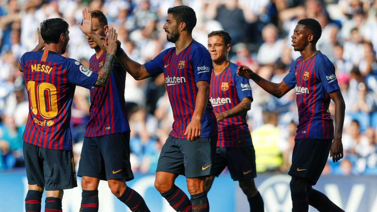 مباراة برشلونة اليوم بث مباشر