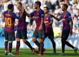 Barça reverse the curse with a dose of luck in Anoeta