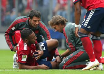 Bayern Munich confirm torn ACL for Tolisso