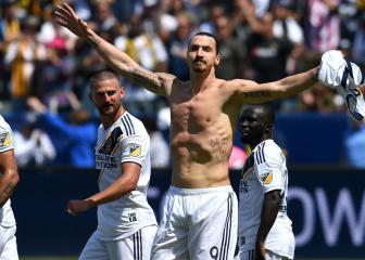 Ibra joins Ronaldo and Messi in 500 club with outrageous goal