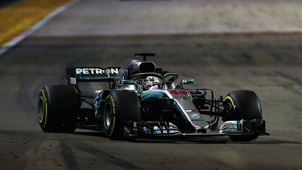 Hamilton extends championship lead as Vettel falters again