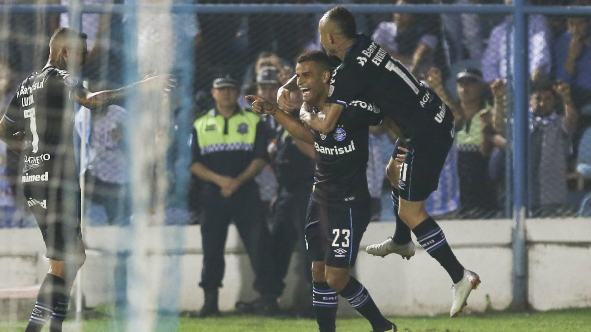 Atletico Tucuman 0 Gremio 2: Libertadores holders draw first blood in QFs