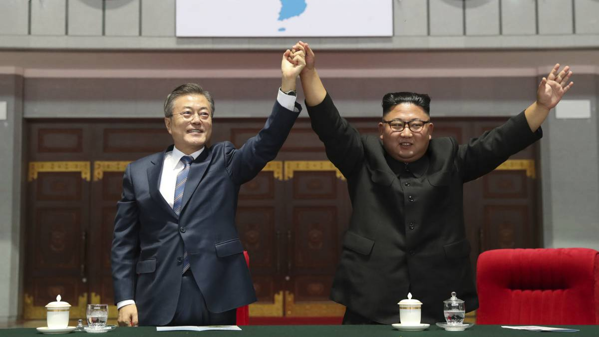 North and South Korea agree to jointly bid for 2032 Olympics