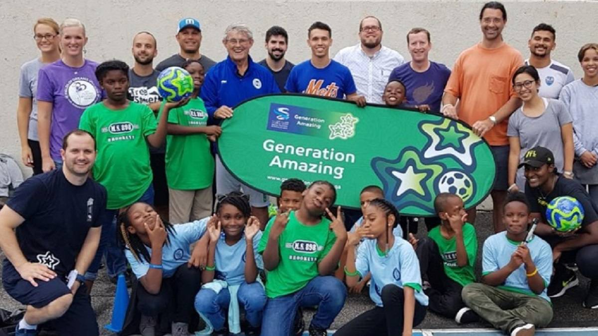 Generation Amazing presents unique football for development