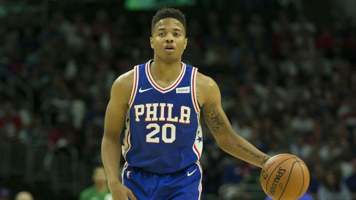 We figured it out - 76ers' Markelle Fultz rebuilds jump shot