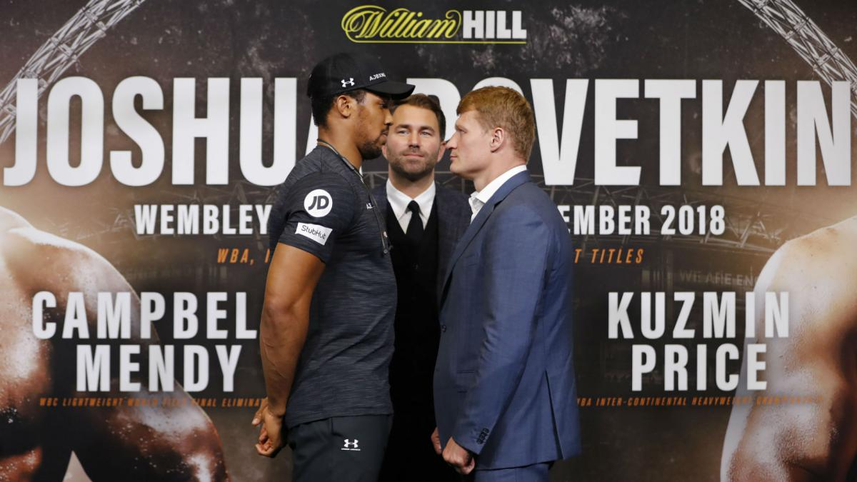 Joshua: Povetkin my second-toughest fight