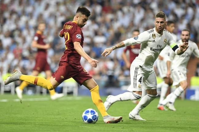 Madrid make light work of Roma.