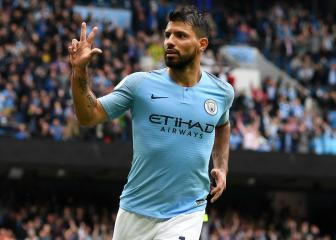 Agüero signs City contract extension until 2021
