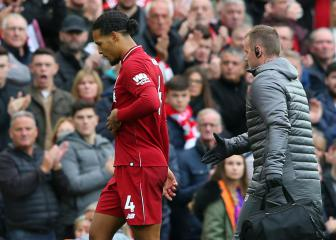 Klopp: Van Dijk injury not serious