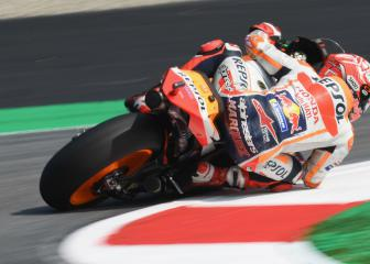 Márquez enjoys home comforts as Lorenzo crashes out again