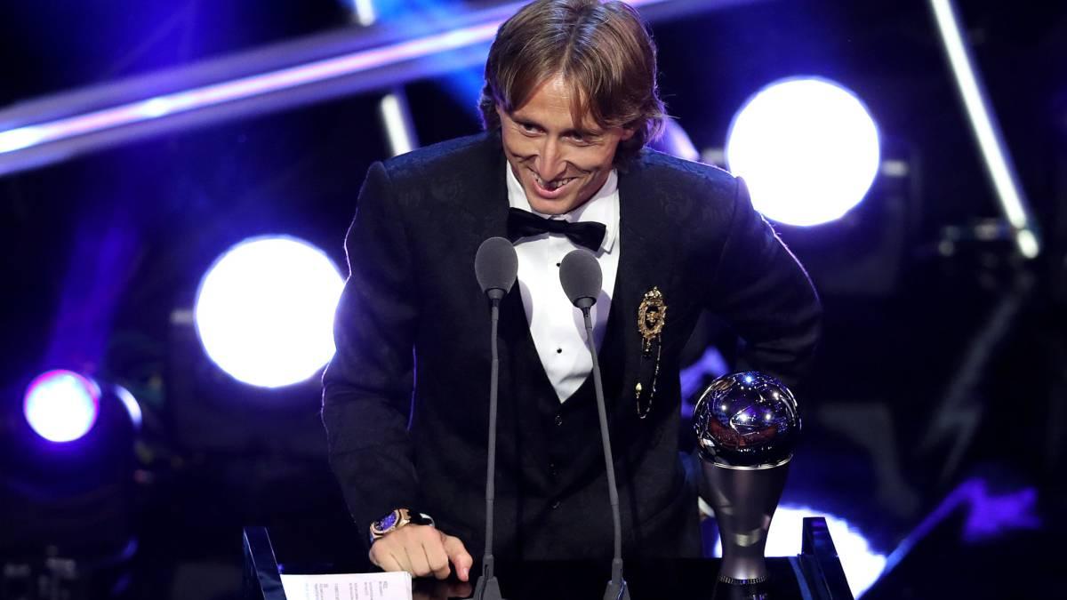 The Best Fifa Football Awards  Modric Wins Best Player