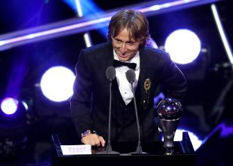 Modric wins Best Men's Player at 2018 FIFA Awards