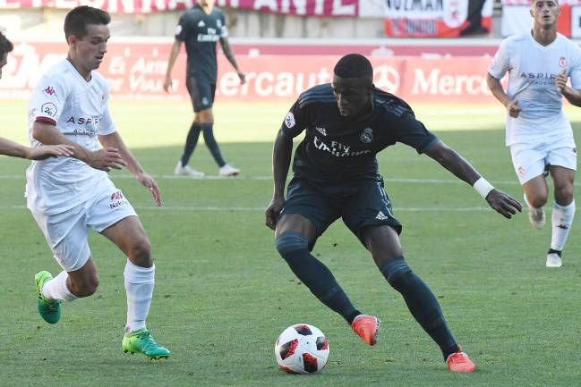 Step by step | Vinicius shining for Castilla.
