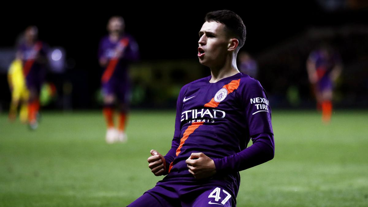 Guardiola: Foden already a great, great player
