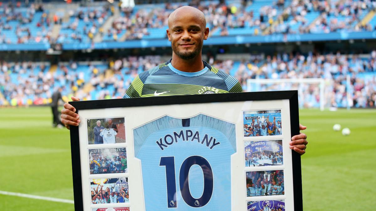 Kompany to donate testimonial money to Manchester homelessness fund