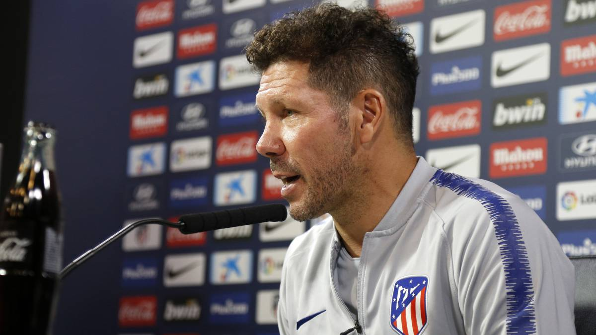 "Simeone: ""The Madrid derby is a game for men - it'll be tough"""