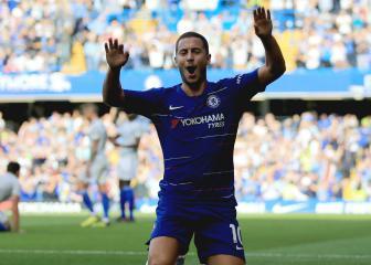 Hazard retires celebration as knees are 'on fire'