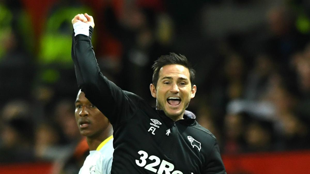 Derby boss Lampard to return to Chelsea in EFL Cup