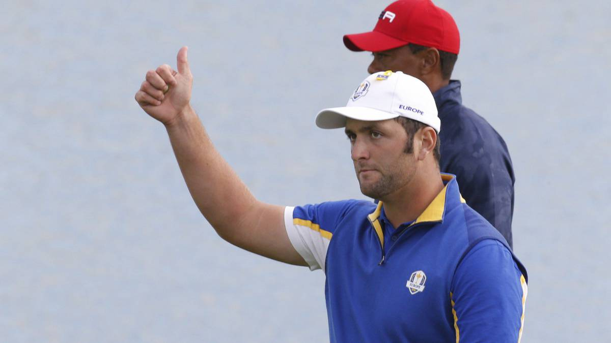 "Ryder Cup: Pivotal win over Tiger gives Rahm ""best feeling"""