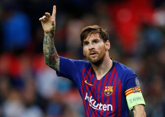Messi wows Wembley as Barcelona beat Spurs