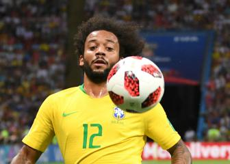 Real Madrid's injured Marcelo drops out of Brazil squad