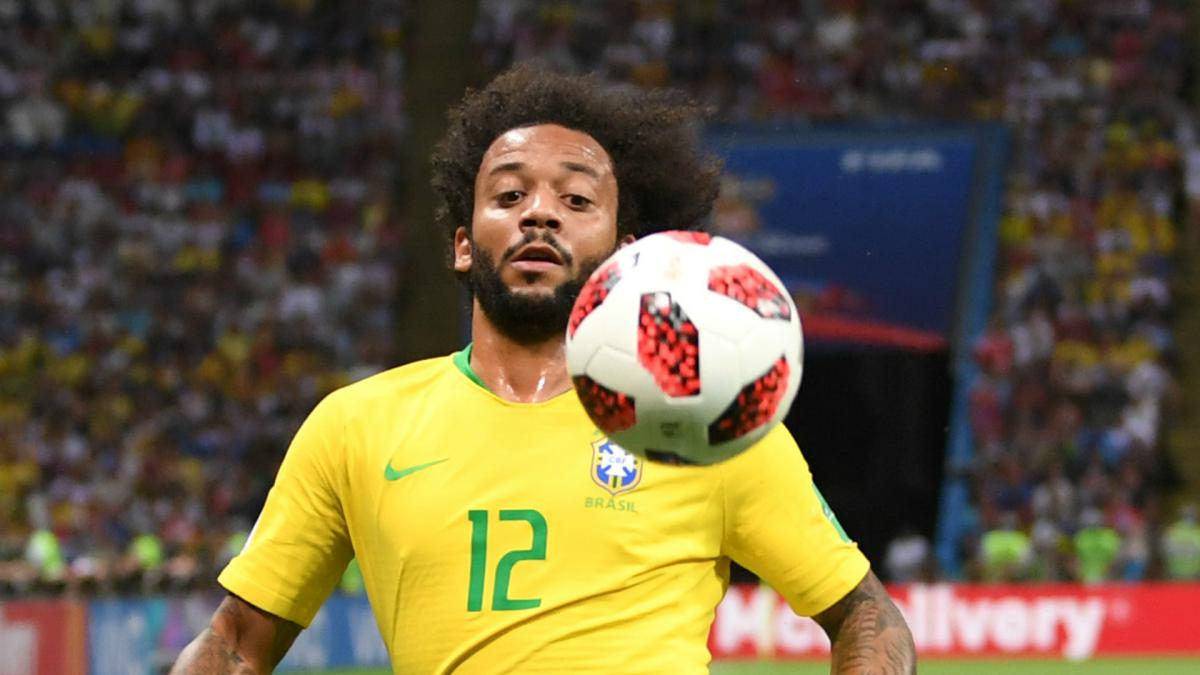 Injured Marcelo drops out of Brazil squad