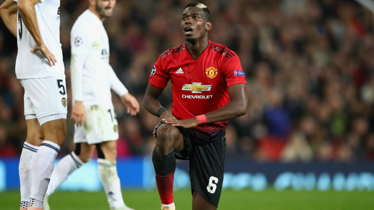 Pogba claims he was barred from media duties after Man Utd stalemate