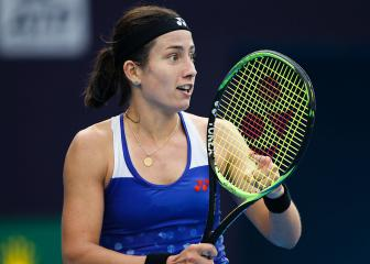 Sevastova surges past Naomi Osaka into first Premier final