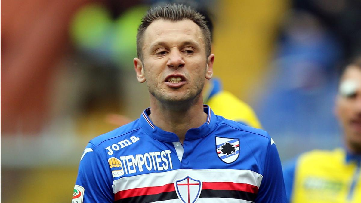 Former Real Madrid forward Cassano agrees to join minnows Virtus Entella