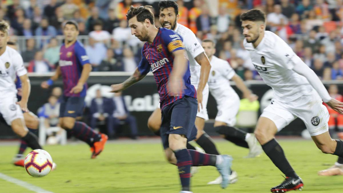 Valencia 1-1 Barcelona: LaLiga 2018/19 week 8 result, report