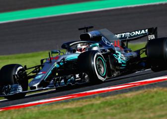 Hamilton takes huge step to F1 title with Suzuka victory