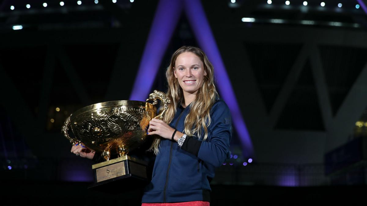 Wozniacki comes full circle by reclaiming China Open title