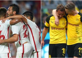 Sevilla, Dortmund surprise leaders - the state of play in Europe's top five leagues
