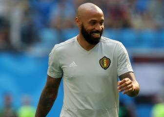 Henry ready to be a head coach, says Belgium boss Martínez