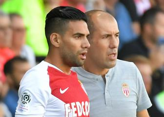 Falcao and Mendy pay tribute to axed Monaco coach Jardim