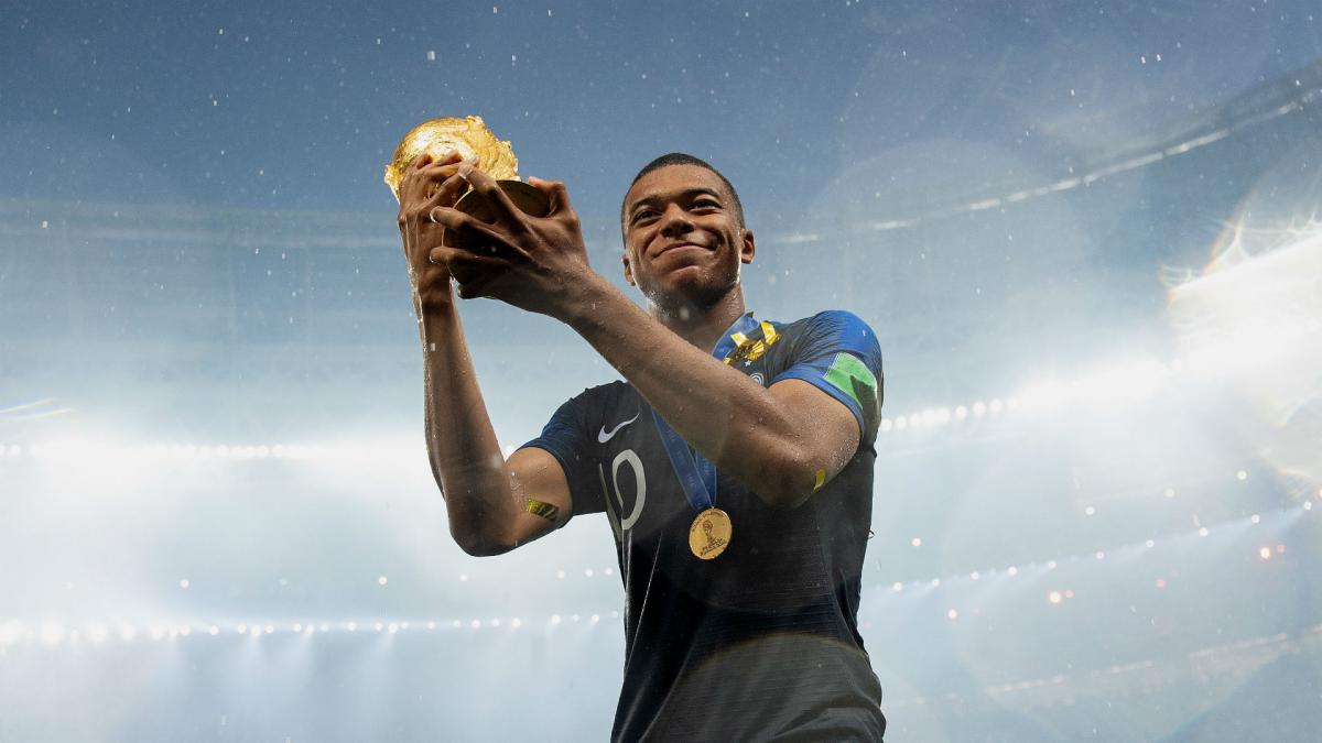 I prefer to think of the collective – Mbappe ignoring Ballon d'Or talk