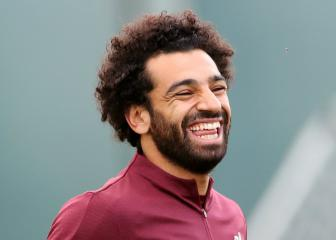 Salah scores direct from corner but limps off in Egypt win