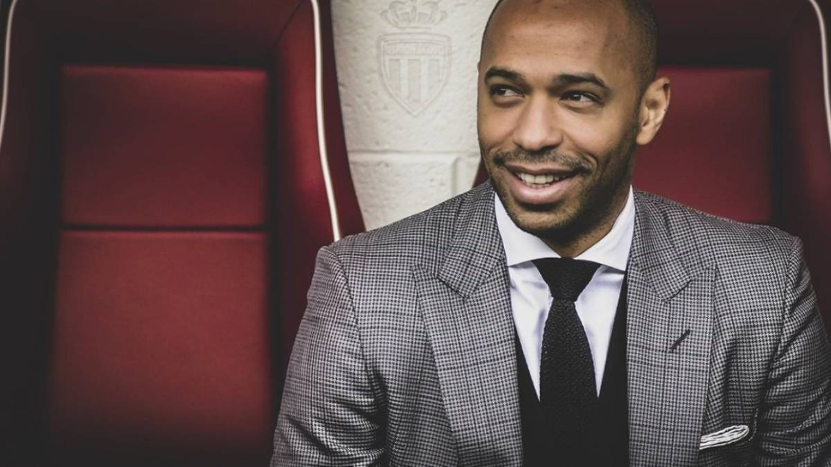 Thierry Henry signs three-year deal to become Monaco coach