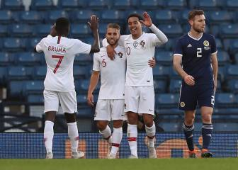 Portugal show their class at Hampden