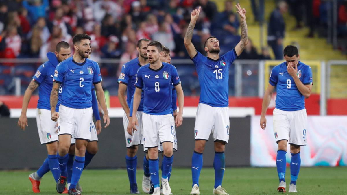 Poland 0-1 Italy: UEFA Nations League match report