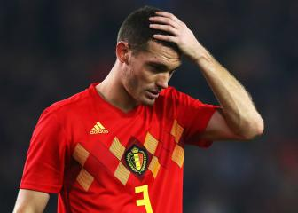 Vermaelen out for six weeks with hamstring injury