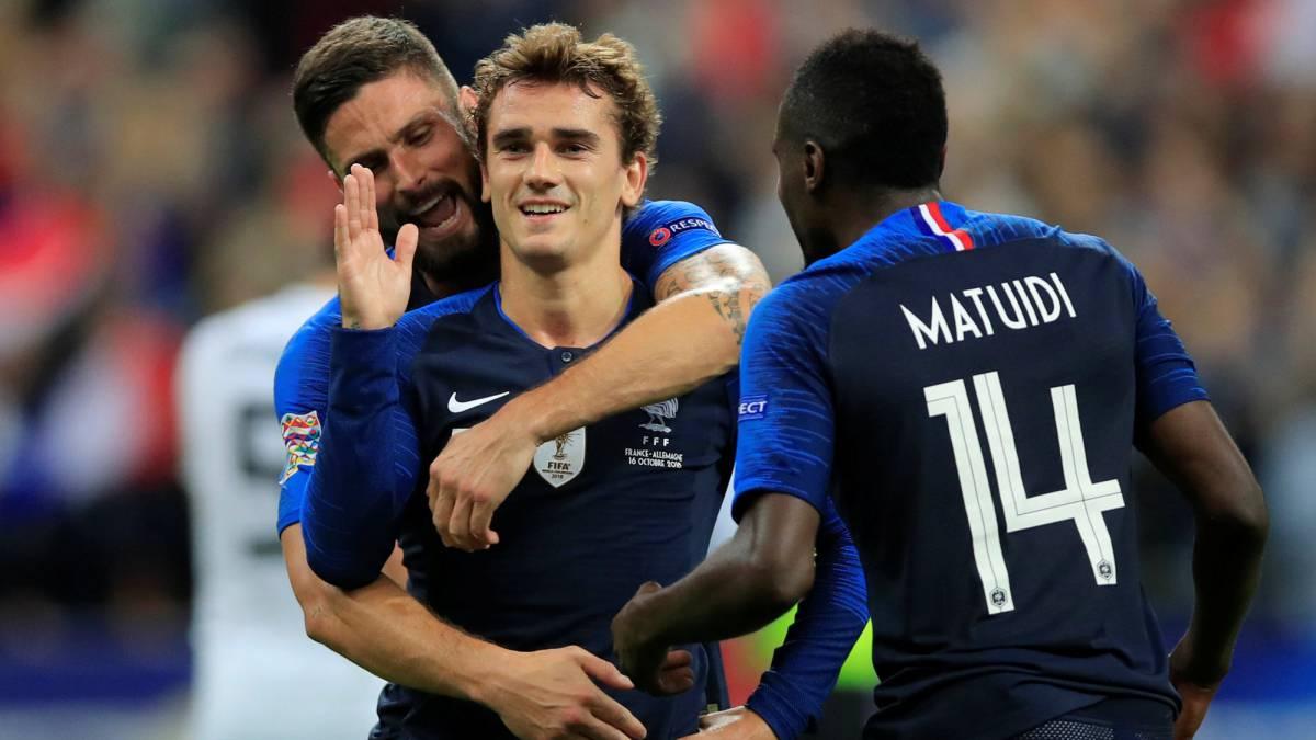 d0c7b9f73d7 France 2-1 Germany match report: UEFA Nations League - AS.com