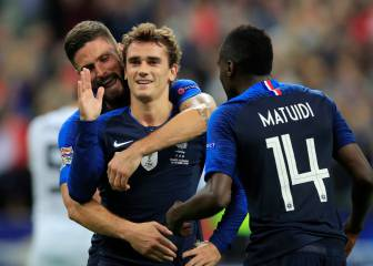 Griezmann steers France to victory