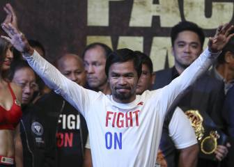 Pacquiao says he is